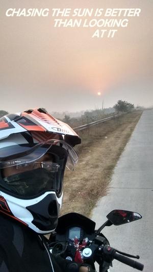 First Adventurous Dream  ride