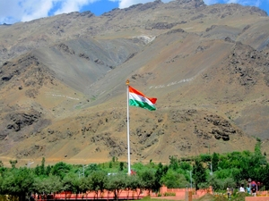 """Beneath this earth young warriors sleep"" – Kargil War Memorial"