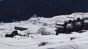Why visit Alps when you have Auli