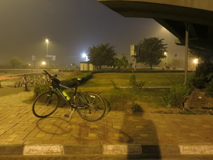 Me, My Cycle and Delhi