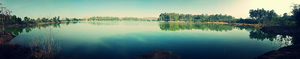 Thattekere : A calming lake.