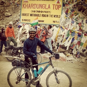 Manali – Leh – Srinagar: Solo Cycling Expedition '15