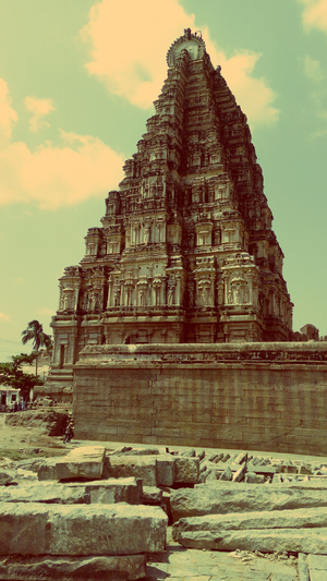 Time Travel To The Vijayanagara Empire