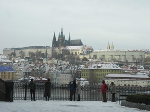 A winter in Prague