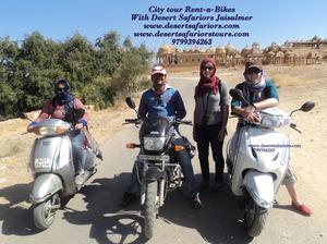 Bike Tour in Jaisalmer