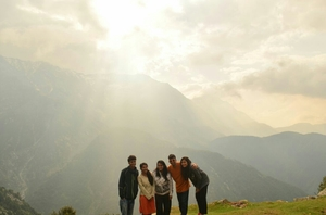 way from compassion to passion: McLeodganj to Triund.
