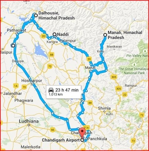 The Himachal Road Trip