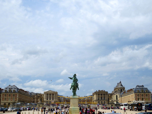 Royal Palace of Versailles in France