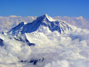 Flying to Mount Everest