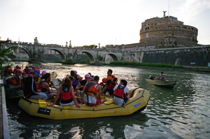 TIBER FUN BOAT EXPERIENCE - Rome Rafting Urban Adventure! FOR ALL!