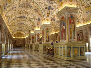 Divine Rome: Walking Through Vatican City Landmark