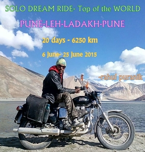 Solo Dream Ride – Top Of The World (Khardungala)