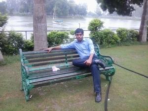 Me at Karna Lake Karnal