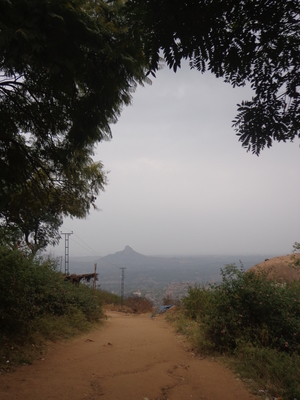 An exhilarating trek to the Shivagange Mountain