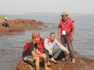 goa  a place not only of beaches but also of mountains and forests of mahaveer wildlife sanctury