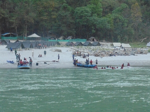 Camping at Rishikesh!