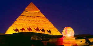 Sound & Lights Show at Giza Pyramids - Private Tou