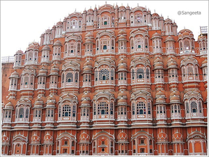 Palace of Winds ~ Hawa Mahal, Jaipur