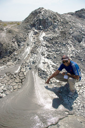 Mud Volcanoes: Its like finding a treasure in wilderness!