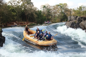 Dandeli: White water rafting in river Kali