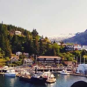 Ketchikan: The Salmon Capital of the World & Alaska's Rainiest Town!