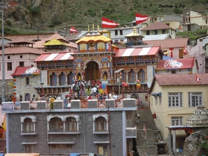 The Holy Shrine of Badrinath