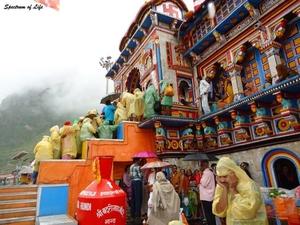 The Holy Shrine of Badrinath