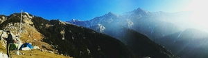 Triund: A Rendezvous with The Himalayas