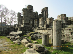 The Temple Ruins of Kashmir
