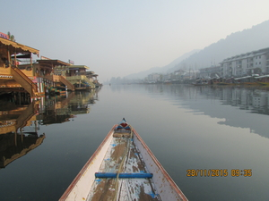 Afloat the mystic Dal Lake