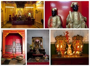 List of Chinese Temples in Old Chinatown Kolkata