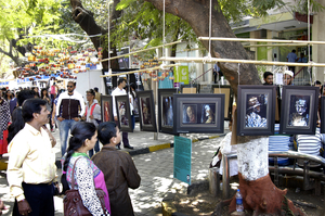 Nature's Painting at Kala Ghoda Arts Festival 2016
