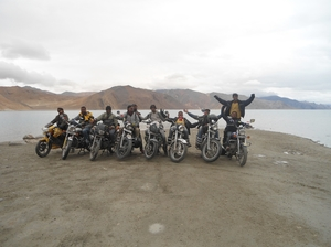 The Ladakh Bike Trip