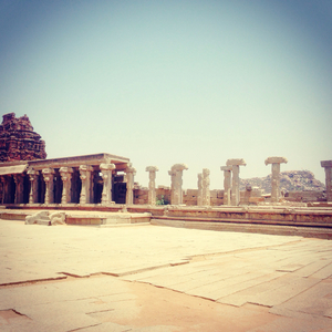 Beautiful History Etched In Stones#On The Big Rocks Of Hampi