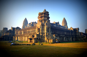 Cambodia: Greeting The Sun At Ankor Wat