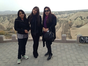 Girls on wanderlust trip to Turkey
