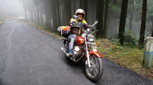 Darjeeling the Queen of hills visited by Motorcycle.