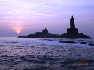 The Best Sunrise I Experienced (Kanyakumari)