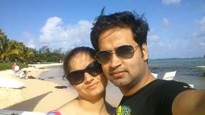 Love on the beach...Mauritius