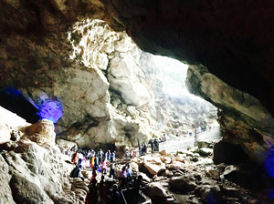 Vizag's Natural Wonder -Borra Caves