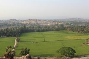 Hampi- The Beautiful land of Green- Ruins
