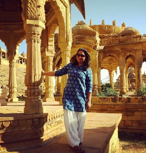 My first solo trip to Jaisalmer aka the Golden City