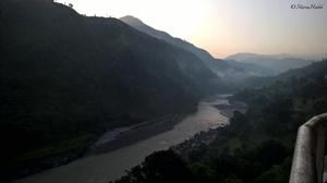 Rowing through Himalayas-Delhi to Manali.