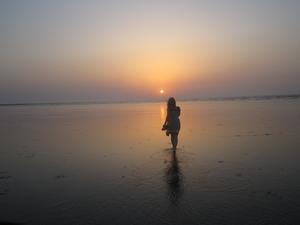 A surreal experience-Bordi Beach,Maharashtra