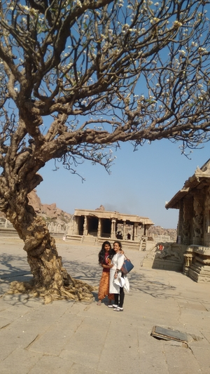 Hampi- A surprise for my mother.