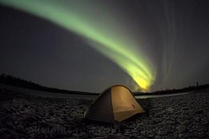 Northern Lights at Arctic Circle