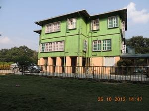 Halt at Hallong in Jaldapara WLS