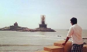The edge of India