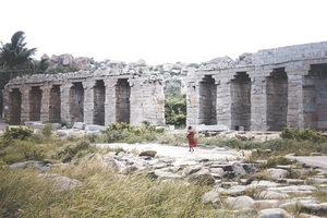 This is what happens when a girl and a guy embark on a backpacking trip to HAMPI!