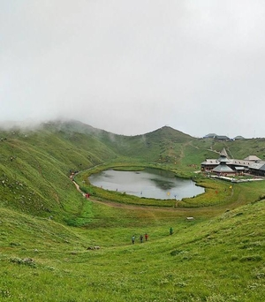 Parashar Lake: Abode of clouds